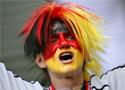 德国球迷为爱队加油