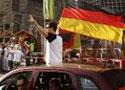 德国球迷柏林欢庆