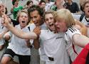 德国球迷释放激情