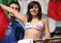 意大利球迷助威