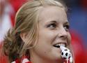 富有激情的瑞士球迷