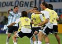 阿根廷2比1墨西哥集锦