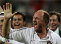 赛后葡萄牙庆祝胜利
