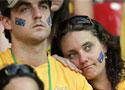澳大利亚球迷沮丧失神