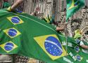 巴西球迷团前来助阵