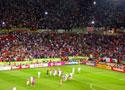 法国队享受球迷欢呼