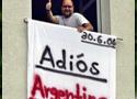 球迷骚扰阿根廷