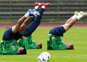 墨西哥队备战世界杯