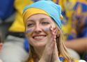 漂亮的乌克兰球迷