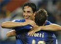 意大利球员享受胜利