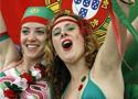 葡萄牙球迷赛场助威