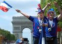法国球迷高歌猛进