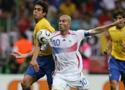 巴西对阵法国精彩场面