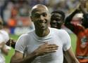 法国球员庆祝胜利
