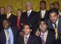 厄瓜多尔总统为队员授勋