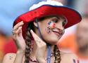 性感十足的法国球迷