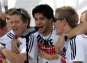 德国回柏林举行庆祝会