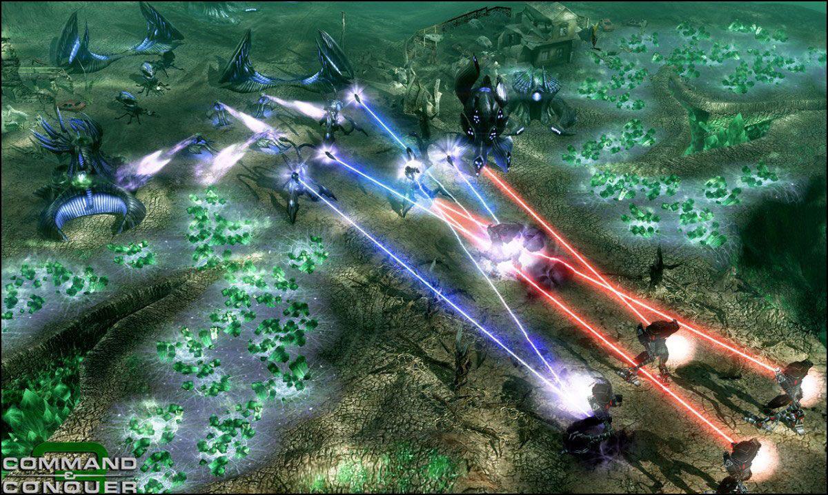 欣赏最新《命令与征服3》华丽画面