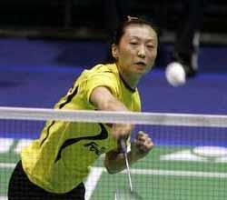 张宁完胜 中国3-0横扫印尼成功卫冕