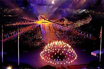 伦敦奥运会落幕 狂欢成闭幕式主题