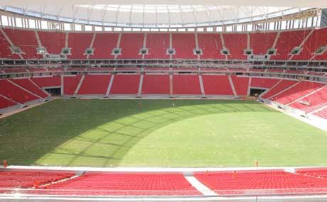2016里约奥运会巴西利亚足球场重建后正式开放