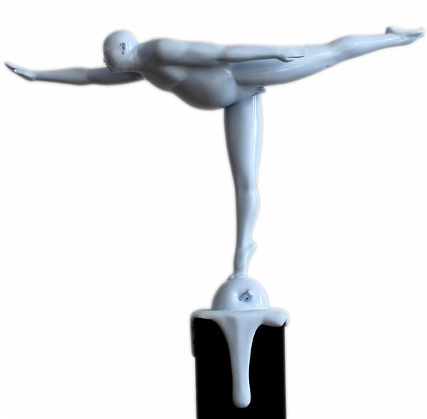 序号14,雕塑《蝶之舞》