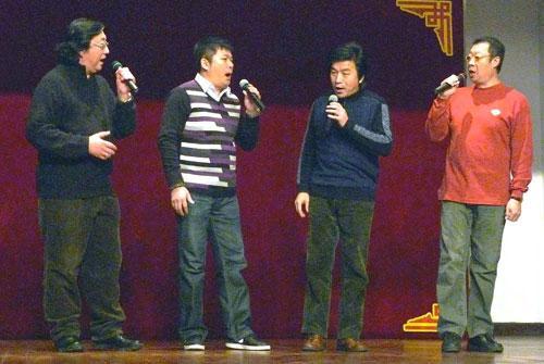 男声四重唱青花瓷曲谱