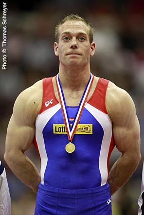 前体操冠军范杰尔德重回赛场 目标巴西奥运会