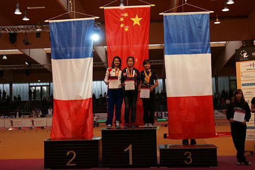11自由式轮滑世锦赛落幕 中国队高居奖牌榜首位